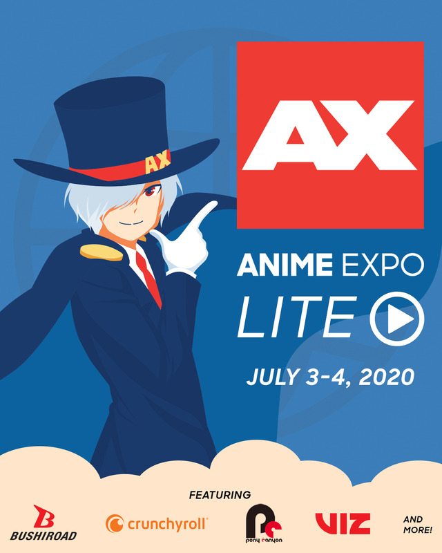 「Anime Expo Lite」キービジュアル