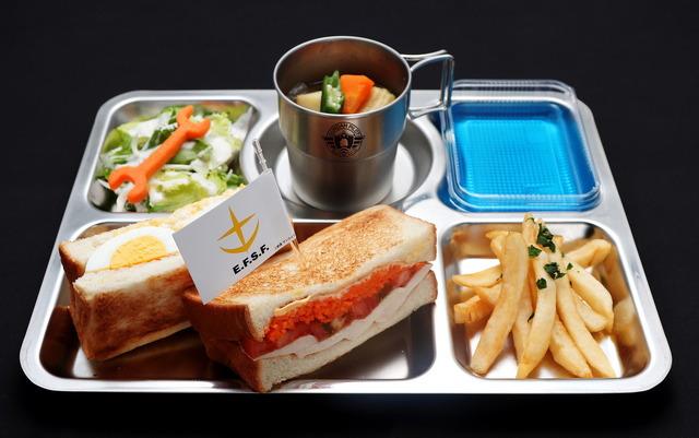 「GUNDAM Cafe TOKYO BRAND CORE」パイロットランチ