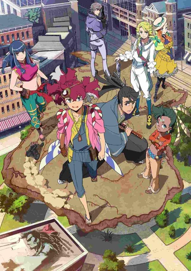 『天晴爛漫!』キービジュアル(C)2020 KADOKAWA/P.A.WORKS/天晴製作委員会