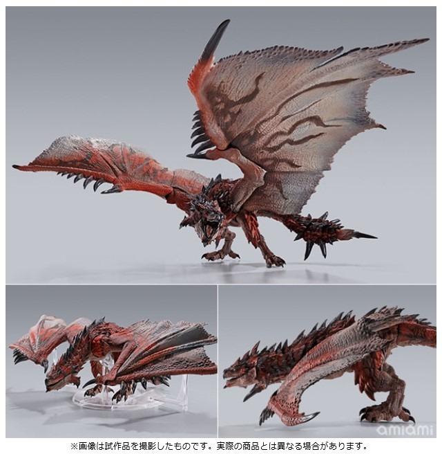 「S.H.MonsterArts リオレウス 『モンスターハンターワールド:アイスボーン』」参考価格:13,200円(税込)(C)CAPCOM CO., LTD. ALL RIGHTS RESERVED.