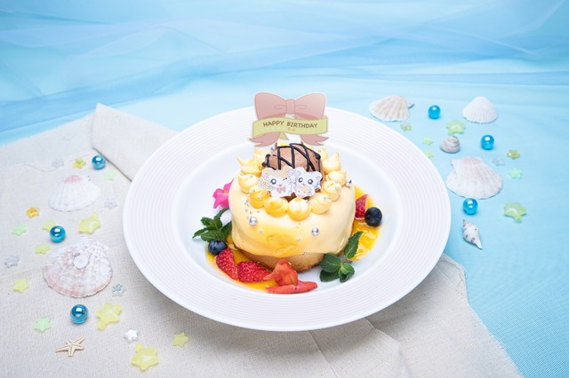 HAPPY HAMU HAMU バースデーケーキ 1,499 円(C)河井リツ子/小学館