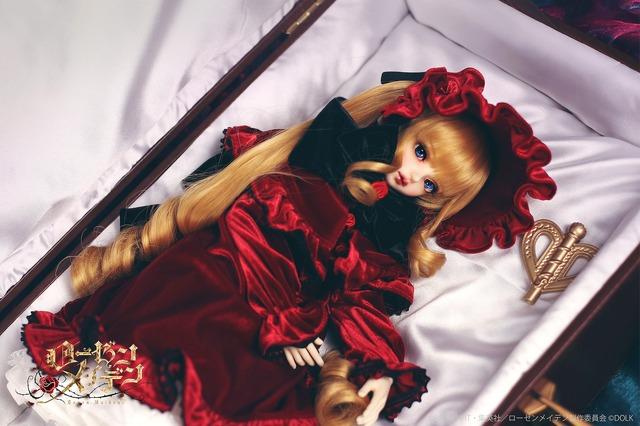「『ローゼンメイデン』真紅 キャストドール」114,800円(税抜)(C)PEACH-PIT・集英社/ローゼンメイデン製作委員会