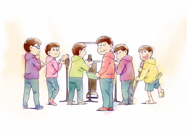 『おそ松さん』超ティザービジュアル(C)赤塚不二夫/おそ松さん製作委員会
