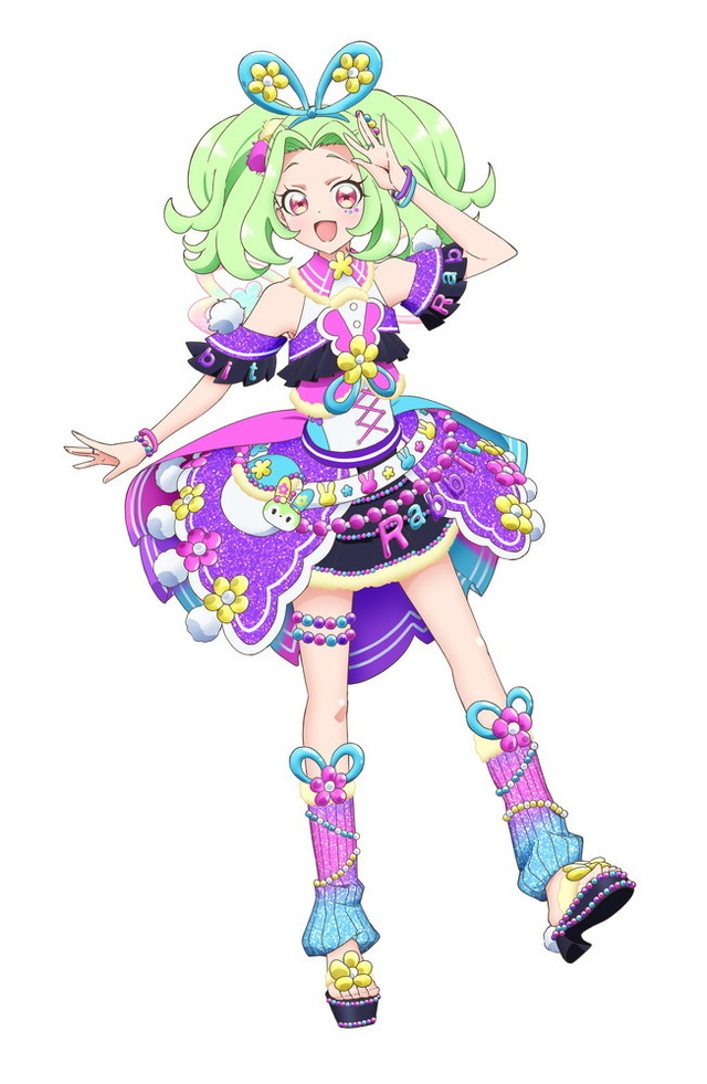 『キラッとプリ☆チャン』シーズン3 ラビリィ(C)T-ARTS/ syn Sophia / テレビ東京/ PCH3製作委員会