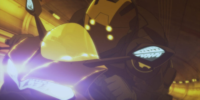 『HERO MASK』第3話先行カット(C) フィールズ・ぴえろ・創通/ HERO MASK製作委員会