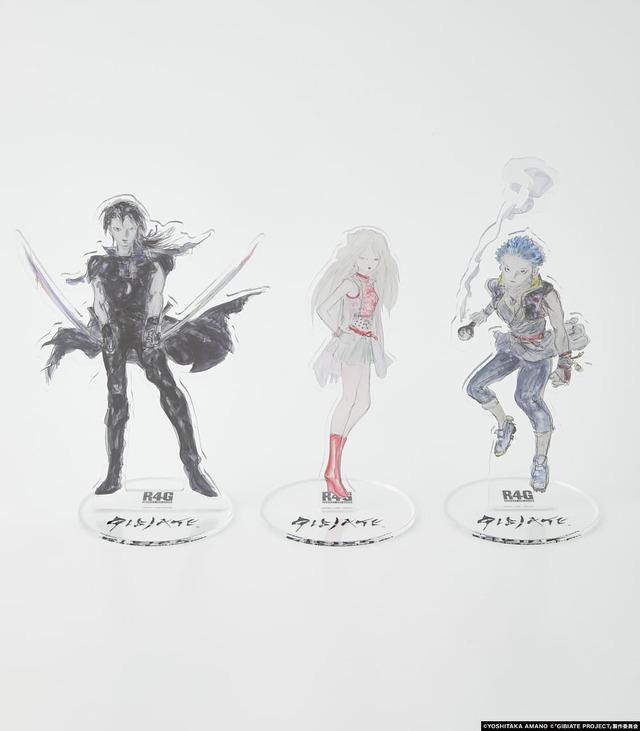 「ALL STARS Aclyric Stand」1,500円(税別)(C)YOSHITAKA AMANO(C)「GIBIATE PROJECT」製作委員会