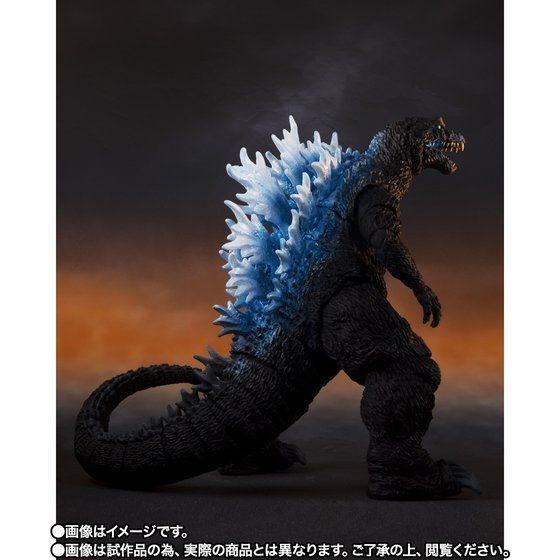 「S.H.MonsterArts ゴジラ(2001)放射熱線Ver.」9,900円(税込)TM & (C) TOHO CO., LTD.