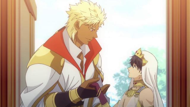 『巨人族の花嫁』第4話先行カット(C)ITKZ/Suiseisha Inc.