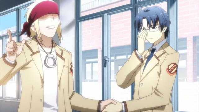 『Angel Beats!』第4話先行カット(C)VisualArt's/Key(C)VisualArt's/Key/Angel Beats! Project