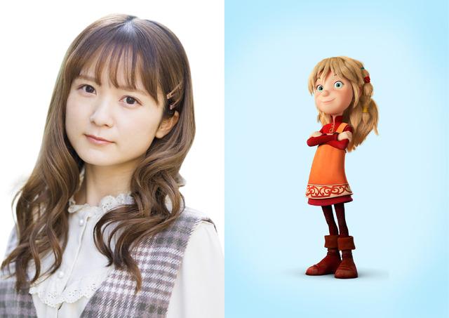 『小さなバイキング ビッケ』和多田美咲(イルビ)(C)2019 Studio 100 Animation - Studio 100 Media GmbH - Belvision