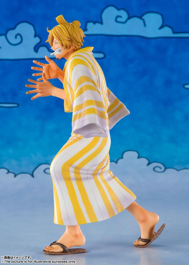 """""""海贼王""""瓦诺国篇服装的""""圣五郎""""立体化!""""町人""""风格的和服令人印象深刻"""