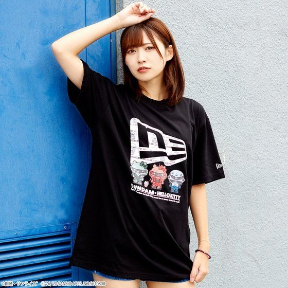 「STRICT-G NEW ERA 『ガンダム★ハローキティ』Tシャツ ジオン軍」6,380円(税込)(C)創通・サンライズ