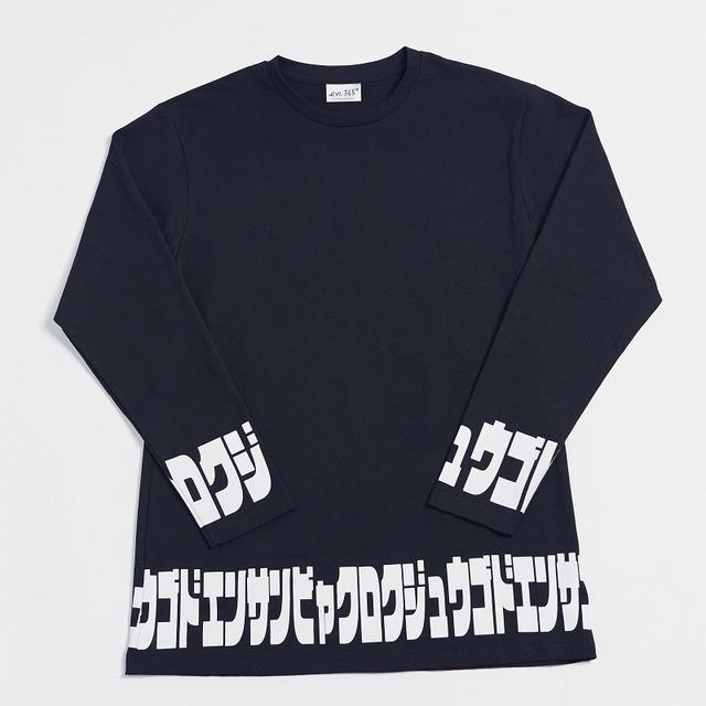 ロンT katakana (BLACK)5,500円(税込)