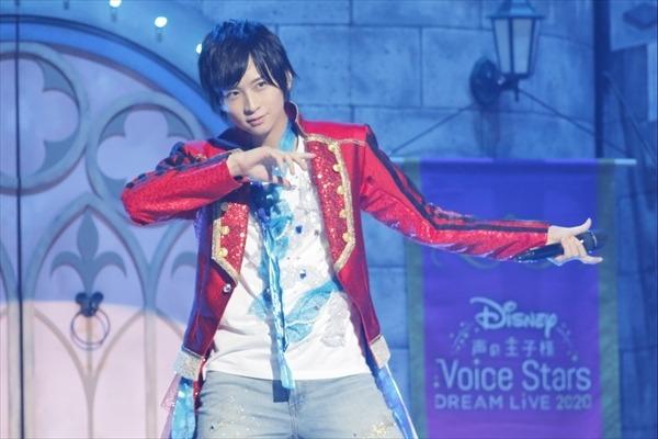 「Disney 声の王子様Voice Stars Dream Live 2020(ニコニコ生放送)」ライブカット 荒牧慶彦 Presentation licensed by Disney Concerts.(C)Disney
