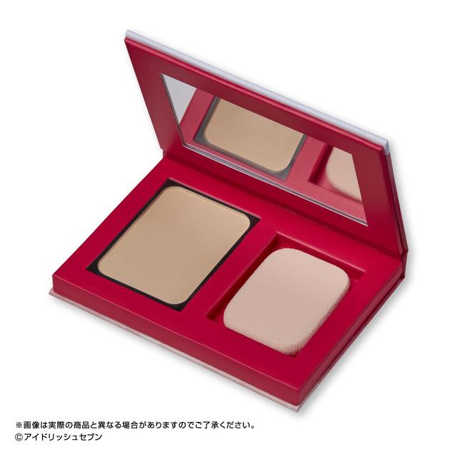 """""""艾德里修七""""推出的化妆包♪偶像形象的粉饼发售"""