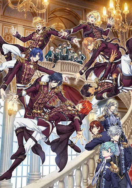 『劇場版 うたの☆プリンスさまっ♪ マジLOVEキングダム』メインビジュアル(C)UTA☆PRI-MOVIE PROJECT