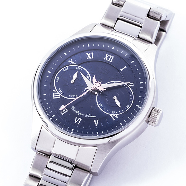 『カードキャプターさくらクリアカード編』コラボレーション腕時計/19,800円(税別)(C)CLAMP・ST/講談社・NEP・NHK (R)KODANSHA