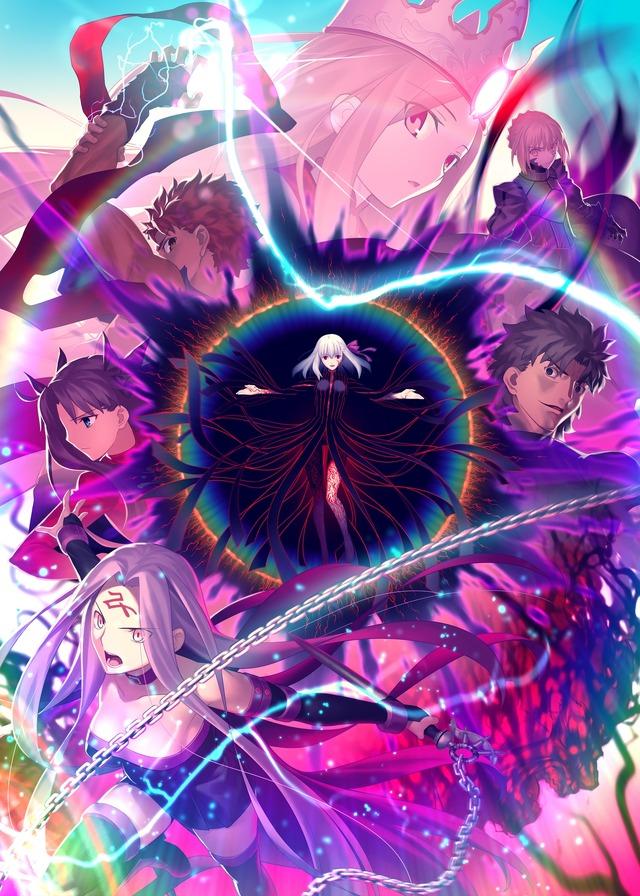 """《Fate/stay night[HF]》最终章、第7周到场者特典收录了""""樱花小册子""""杉山纪彰等声优座谈会-小柚妹站"""
