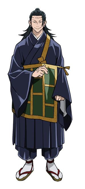 夏油傑(声:櫻井孝宏)(C)芥見下々/集英社・呪術廻戦製作委員会