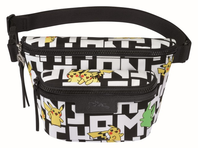 「Longchamp x Pokemon」Le Pliage Collection Pokemon(C)2020 Pokemon.(C)1995-2020 Nintendo/Creatures Inc./GAME FREAKinc.TM,(R), and character names are trademarks of Nintendo