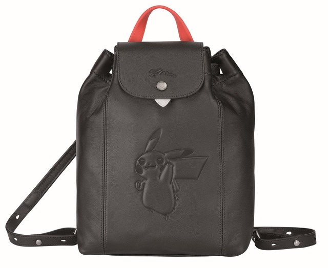 「Longchamp x Pokemon」Le Pliage Cuir Pokemon(C)2020 Pokemon.(C)1995-2020 Nintendo/Creatures Inc./GAME FREAKinc.TM,(R), and character names are trademarks of Nintendo