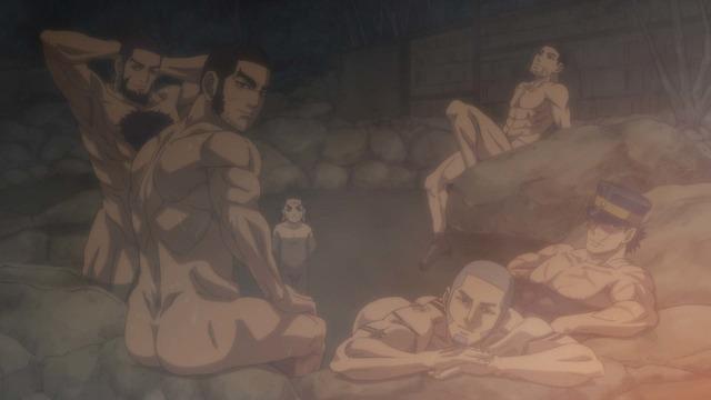 TVアニメ『ゴールデンカムイ』第二十一話「奇襲の音」(C)野田サトル/集英社・ゴールデンカムイ製作委員会