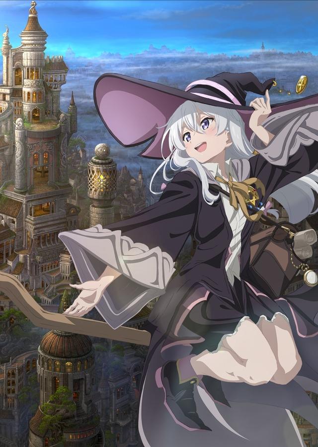 『魔女の旅々』キービジュアル(C)白石定規・SBクリエイティブ/魔女の旅々製作委員会