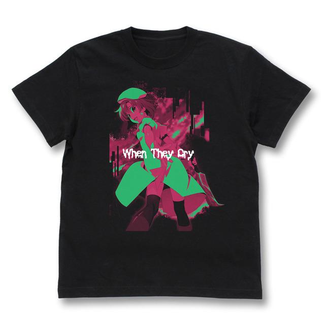 『ひぐらしのなく頃に』カフェ 竜宮レナ Tシャツ [発売:二次元コスパ]¥2,900+税(C)2020竜騎士07/ひぐらしのなく頃に製作委員会