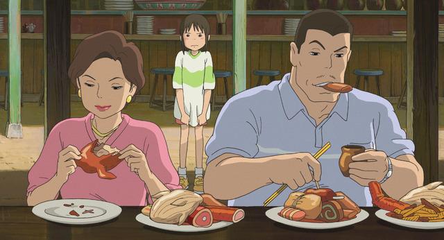 『千と千尋の神隠し』(C) 2001 Studio Ghibli・NDDTM
