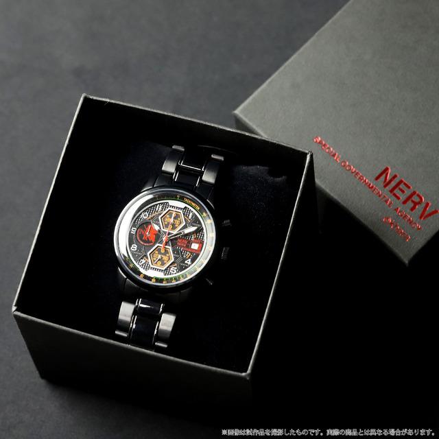 「EVA STORE オリジナル腕時計(TYPE-NERV)」22,000円(税込)(C)カラー