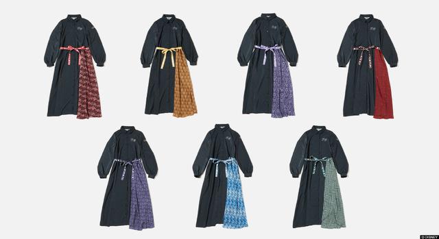 「7Dormitories Maxi Shirts Dress」11,000円(税込)(C)DISNEY