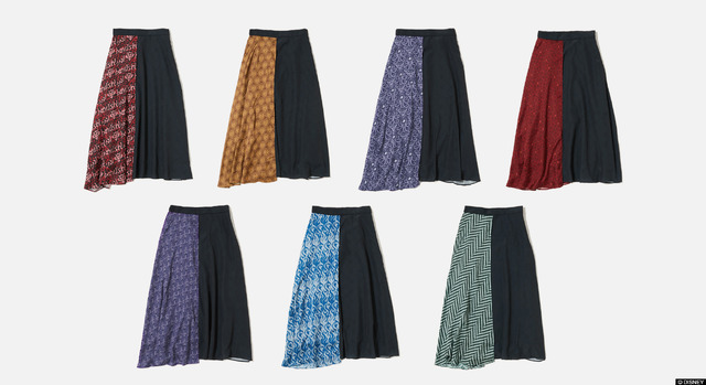 「7Dormitories Maxi Skirt」7,700円(税込)(C)DISNEY
