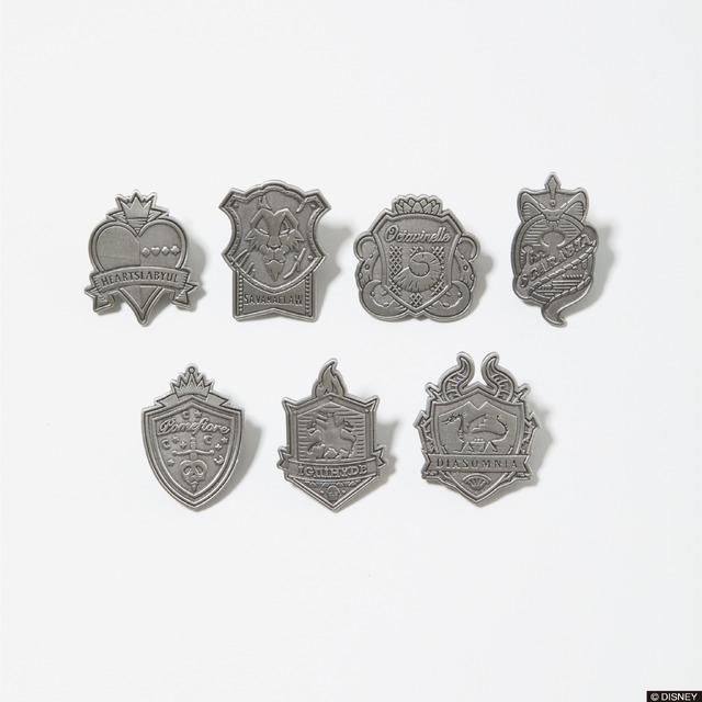「TW Emblem Pins」880円(税込)(C)DISNEY