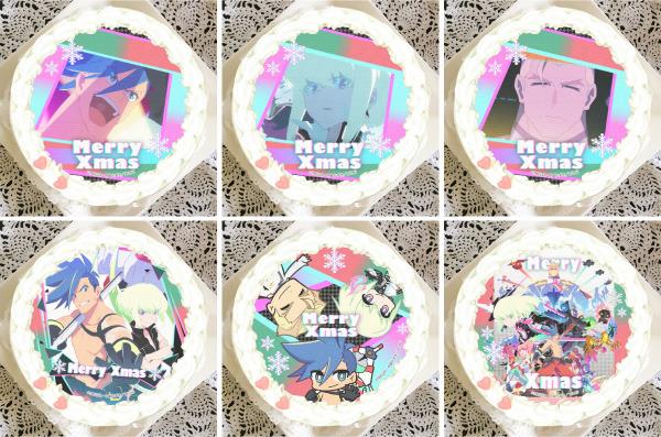 「『プロメア』クリスマスプリケーキ」4,980円(税別)(C)TRIGGER・中島かずき/XFLAG