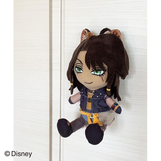 マグネットマスコット 使用イメージ(レオナ)(C)Disney