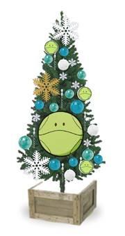 「ハロのクリスマスツリー」