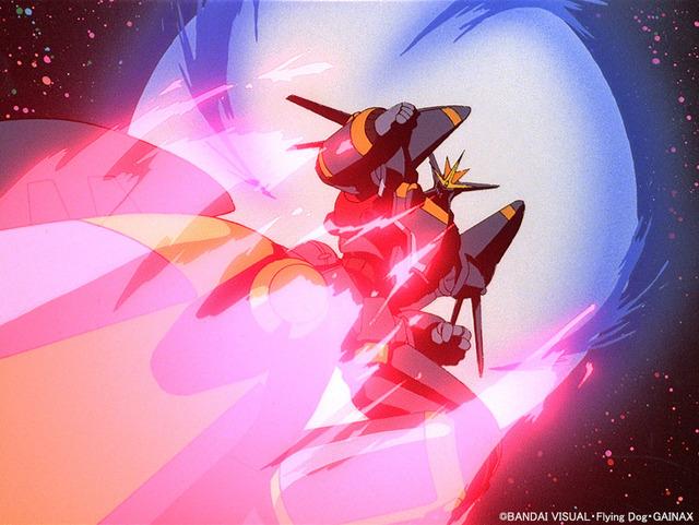 『トップをねらえ!』場面カット(C)BANDAI VISUAL・Flying Dog・GAINAX