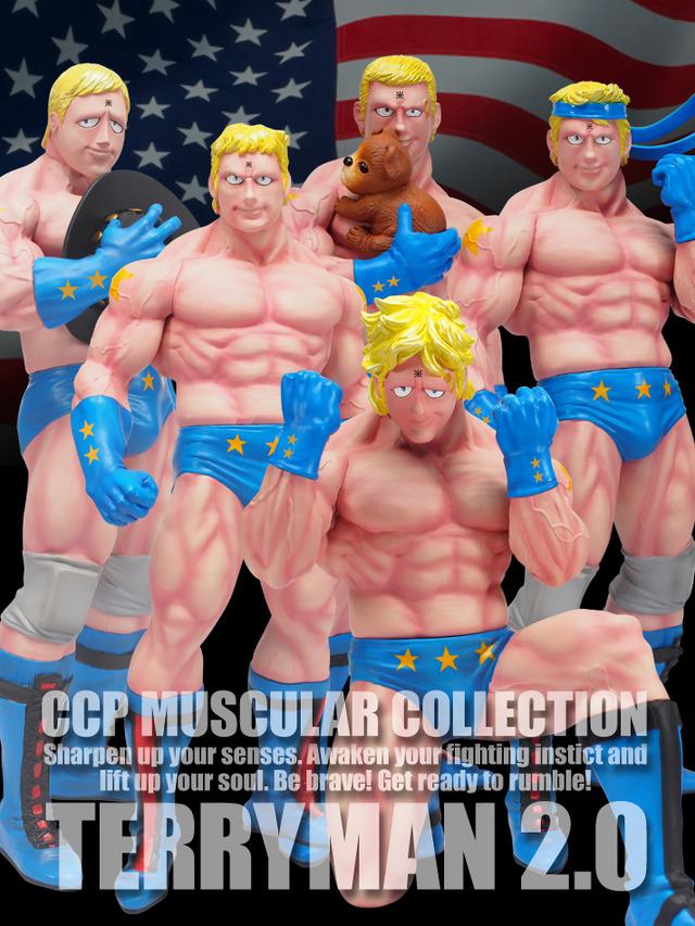 「CCP Muscular Collection NO.56 テリーマン 2.0 Ver.」特別カラー(C)ゆでたまご