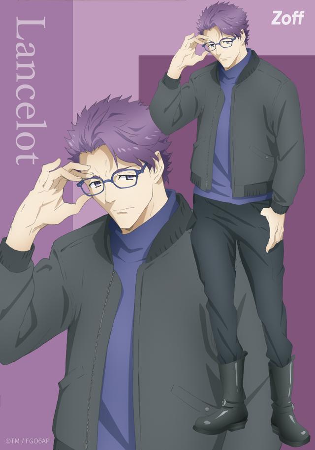 「ランスロット」ビジュアルカード(C)TYPE-MOON / FGO6 ANIME PROJECT