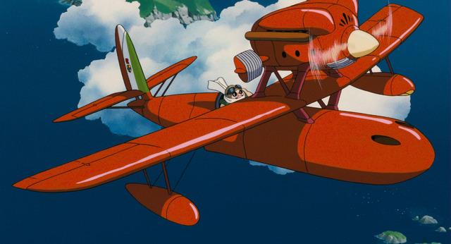 『紅の豚』(C) 1992 Studio Ghibli・NN