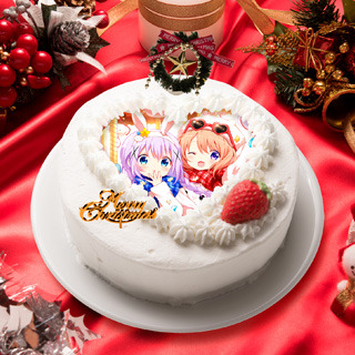 「2020クリスマスケーキ<ご注文はうさぎですか? BLOOM>」