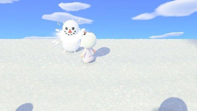 森 雪 玉 あつ 【あつ森】雪だるまの作り方のコツと貰えるレシピ【あつまれどうぶつの森】 ゲームエイト