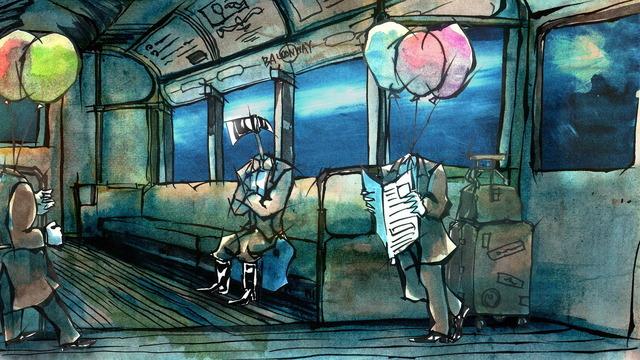 『The Balloon Catcher』(C)Isaku Kaneko/ Tama Art University, Graduate School of Art and Design, Design Course, Graphic Design Field