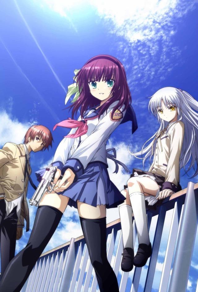 『Angel Beats!』キービジュアル(C)VisualArt's/Key(C)VisualArt's/Key/Angel Beats! Project