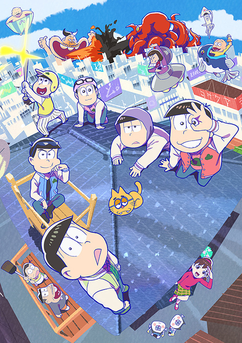 TVアニメ『おそ松さん』第3期メインビジュアル(C)赤塚不二夫/おそ松さん製作委員会