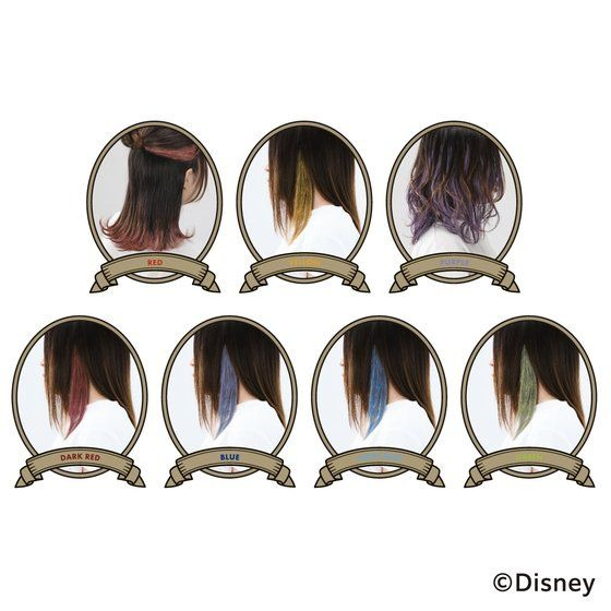 「ディズニー ツイステッドワンダーランド カラーワックス」2,200円(税込)/「ディズニー ツイステッドワンダーランド カラーワックス ミラーセット」4,620円(税込)(C)Disney