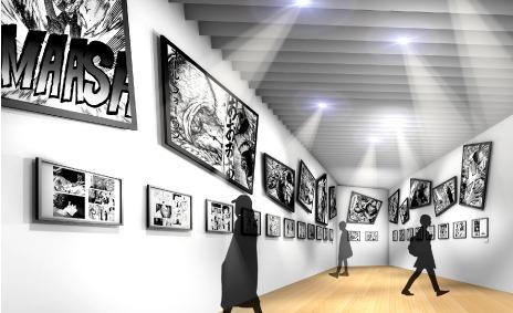 """「僕のヒーローアカデミア展 DRAWING SMASH」第4章:The Super Bout !!-""""個性""""×大戦-(C)堀越耕平/集英社"""