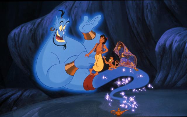『アラジン』(C)2021 Disney (C)2021 Disney/Pixar