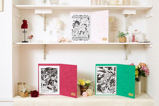 『CLAMP30周年記念 伽羅切絵(全3種)』各4,500円(税込)(C)CLAMP・ShigatsuTsuitachi CO.,LTD./講談社