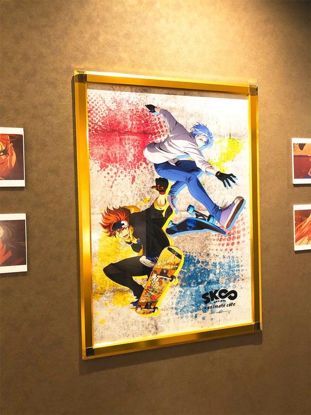 「SK∞ エスケーエイト」×アニメイトカフェ 店内(C)ボンズ・内海紘子/Project SK∞